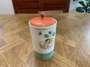 "Wedgwood Sarah's Garden 7"" Storage Jar with Lid - Green"