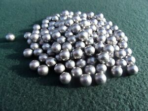 300 10mm approx round lead balls catapult slingshot ammo