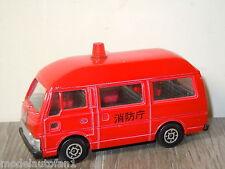 Nissan Caravan Fire Chief van Diapet Japan *6151