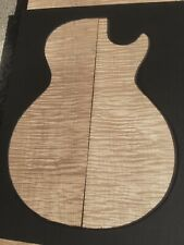 Ribbon Flame Eastern Maple LP Matched Guitar Top Set No.3-7#8.40ou.