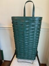 New listing Antique Vintage Rare Wicker Grocery Shopping Cart, Rubber Tires, Bentwood Handle