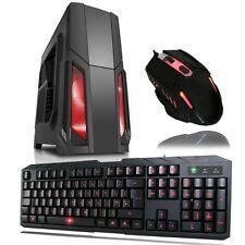 Gaming PC: Intel i7 - RX 580 120SSD; +BONUS GAMING Keyboard & Mouse, 17 monitor
