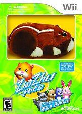 "Nintendo Wii Zhu Zhu Pets ""Nutters"" Hamster Ltd Edition Featuring Wild Bunch"