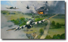 Closing the Gap by Robert Taylor - The Typhoon Edition - WWII - Aviation Art