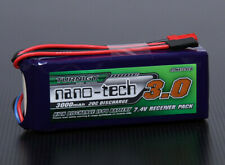 H.V. 3000mah 7.4v 2S 25C Lipo Receiver RX Battery Pack Losi 1/5 5ive T DB-XL MT