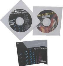 Original Asus EAH 5870 ATI pilote CD DVD Driver Manual c008 eah5870 gtx480