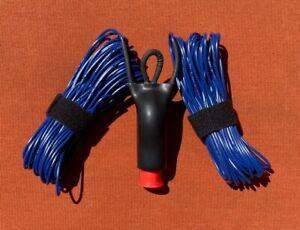 Rugged 100 Watt Integrated Balun HF Dipole Portable/Stealth/ Ham Radio Antenna