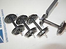 "g scale axles Aristo-Craft Black Plastic Wheels  AAR Chilled Wheels"""