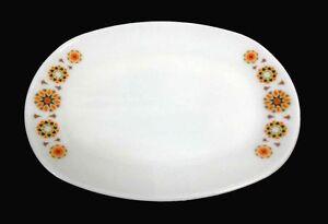 Vintage Milk Glass Pyrex Platter - Toledo JAJ - Perfect Condition