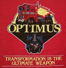 """""""OptiMASK"""" Optimus Prime MASK 80s Logo Mashup Mashup Men's Medium Shirt Ript"""