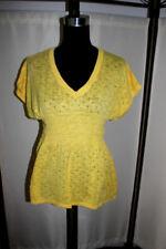 H&M Kurzarm Damen-Pullover & -Strickware mit V-Ausschnitt