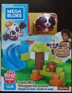 Mega Bloks First Builders - Panda Slide - New