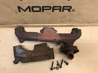 71 72 73 74 Mopar B BODY L Exhaust Manifold 318 340 360 CHARGER CORONET SATELLTE