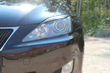 Eyebrows Eyelids Lexus IS 250 Unpainted (Black) 2005-2010 2 pcs (R&L)