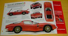 1965 67 68 69 1966 Bizzarrini GT Strada Italian 327 ci 365 hp V8 Info/Spec/photo