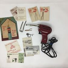 Vintage WEN Soldering Gun Model 199K with 4 Tips, Vintage BernzOmatic Brochure