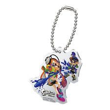 Splatoon Blue Male Inkling Fighting Orange Female Inkling Acrylic Key Chain MINT