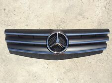 Black W129 Grille GRA-W129-9002W-CL3-BK, SL Class, Brand New, (Fits: Mercedes)