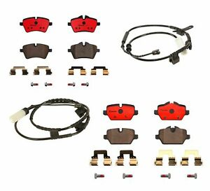 Brembo Front & Rear Ceramic Brake Pads Kit for Mini Cooper Countryman Paceman
