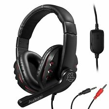 Studio4 VOIP Headset High Bass Digital Stereo Headphone w/ Mic for PC 3.5 mm