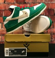 Warren Lotas Jason Dunk Toxic Green Size 8