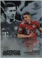 2018-19 Topps Chrome UEFA Champions Superstar Sensations RL Robert Lewandowski