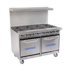 Bakers Pride 48-BP-8B-S20 Restaurant Series Gas Range w/ Eight Burners