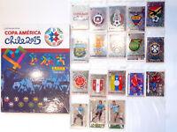 Panini Copa America Chile 2015 - Empty Album hardcover + Complete Stickers Set