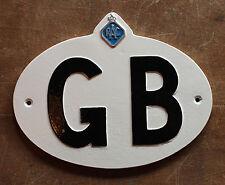 Vintage gb automobila touring insigne grande bretagne classique voiture plaque signe auto - 14