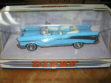 DINKY 1:43 DY-27 1957 CHEVY CHEVROLET BEL AIR CONVERTIBLE 1/43 SKY BLUE