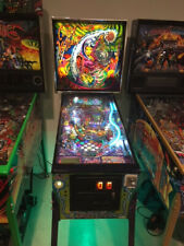 Cirqus Voltaire Pinball Machine - Works perfect with tons of upgrades