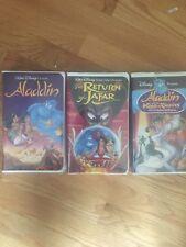 "Disney's ""Aladdin"" Trilogy VHS Collection"