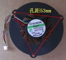 FOR SUNON Series CPU Fan GC056015VH-A 4-Pin Good condition 90 day warranty   Fu8
