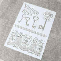 key layering stencils for walls painting scrapbooking stamping stamp album  Hs