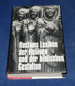 Reclams Lexikon der Heiligen und der biblischen Gestalten