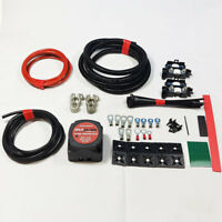 MEDIUM DUTY SPLIT CHARGE KIT 10MTR 12V 140A AMP RELAY 70 AMP CABLE