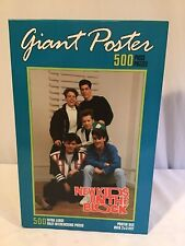 Milton Bradley New Kids On The Block Giant Poster 500 Piece Xl Puzzle New in Box