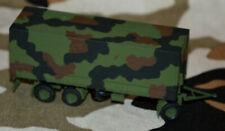 Roco - gr. 3achs-Anhänger der Bundeswehr - schön gebrusht - mit Decals - top!