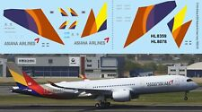 1/144 Decals for Airbus A350 Asiana Airlines livery TB Decal TBD518