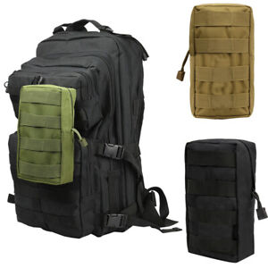 Outdoor Tactical Waterproof Molle Waist Magazine Pouch Accessory Pack Bag Belt