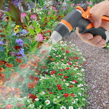 Hose Nozzle Garden Water Sprayer Grip Watering Tool Lawn Plant Cleaning Pipe F3