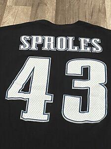 NFL APPAREL PHILADEPHIA EAGLES #43 DARREN SPROLES T-SHIRT JERSEY SZ XL BIRD GANG