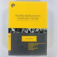 Ingrid Bergman's Swedish Years: Eclipse Series 46 Criterion Collection DVD Set