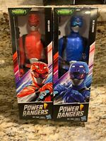 Power Rangers Beast Morphers Cybervillain Blue, Red 12-inch Action Figure