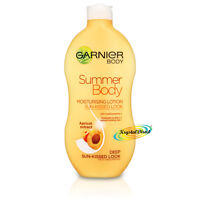 Garnier Summer Body Deep Even Tan Moisturiser Lotion 400ml Apricot Extract