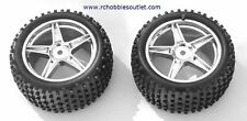 06026 TIRE & WHEEL SILVER HSP ATOMIC TYRANNO HIMOTO ETC