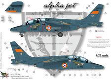 """[FFSMC Productions] Decals 1/72 Alphajet E """"ETO"""" (Cazaux)"""