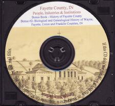 Fayette County Indiana History + Bonus - IN Genealogy
