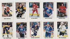 1987-88 OPC Hockey Mini 42-Card Set Wayne Gretzky Mario Lemieux Patrick Roy