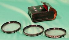 Vivitar Close Up Filter set 55mm filter size. Macro